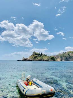 Sicile voyage incentive escapade à l'île Isola Bella
